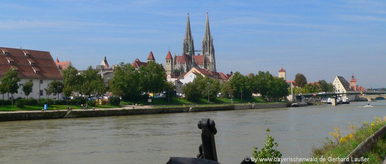 Regensburg Sehenswürdigkeiten in der Oberpfalz Ausflugsziele